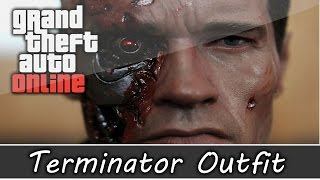 GTA 5 Online - Terminator Battle Damaged Outfit and Customization