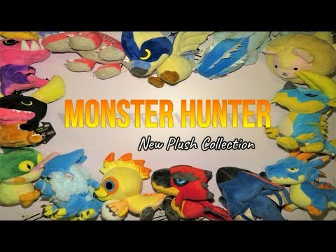 13 Plush NEW Monster Hunter Collection toys Product Review