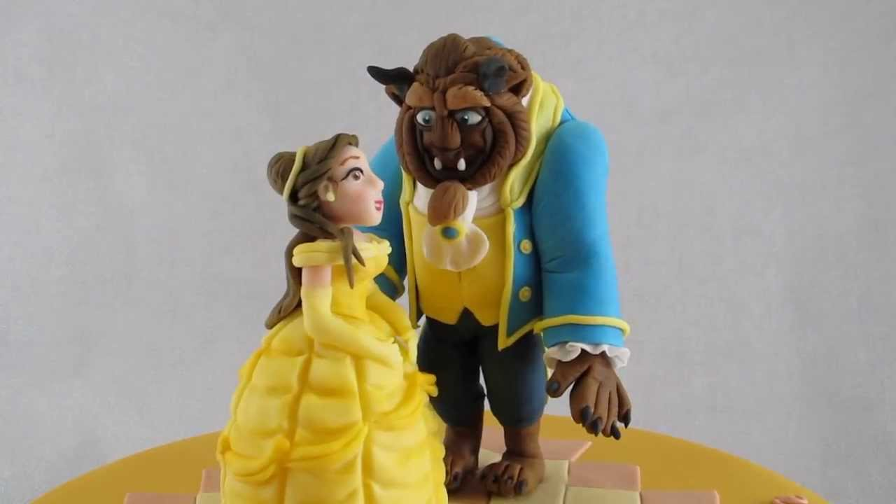 Beauty And The Beast Cake Tutorial