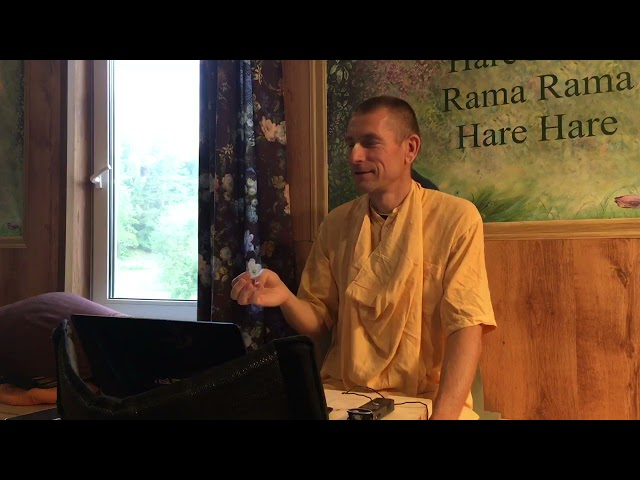 Лекция на Радхаштами 14.09.2021. E.С. Ананда Вардхана Свами