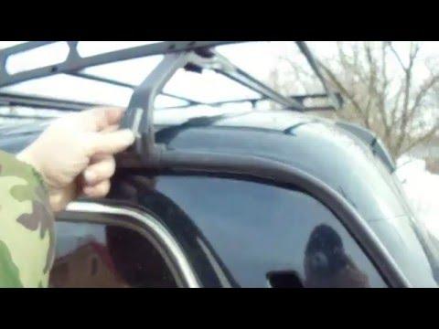 Багажник для НИВА 21214 Переделываем своими руками