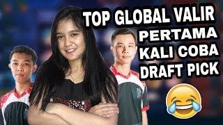 PERTAMA X RANKED BARENG TOP GLOBAL VALIR !! BISA MENANG ? - Mobile Legend Indonesia