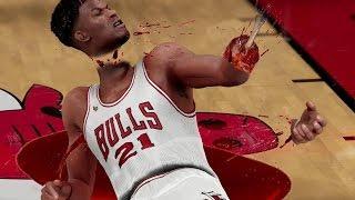 LEBRON JAMES ALMOST KILLED HIM! NBA 2K16 GREATEST GAME EVER