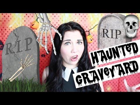 Exploring A Haunted Graveyard!