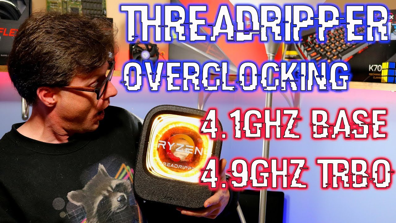 Overclocking 2950X - CPUs, Motherboards, and Memory - Linus