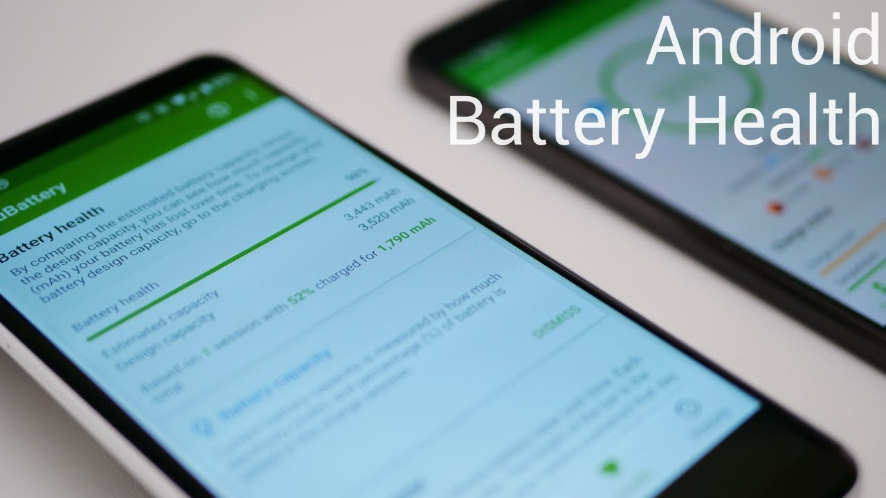 How To See Android Battery Health percentage - YouTube