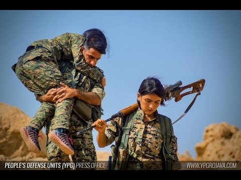 Hunting ISIS With Kurdish Female Fighters [Documentary HD/Kurds]
