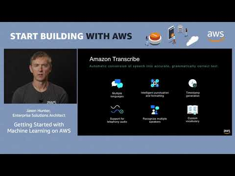 AWS Quick Start – Build Intelligent Applications with Machine Learning on AWS