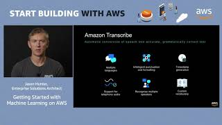 AWS Quick Start - Build Intelligent Applications with Machine Learning on AWS