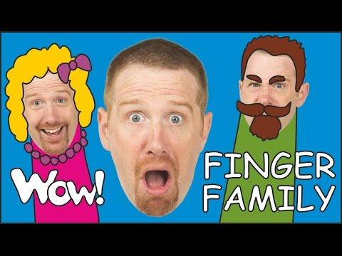 Ice Cream Finger Family | Steve and Maggie | English Stories for Kids from Wow English TV