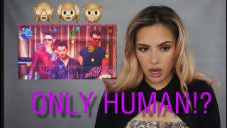 """JONAS BROTHERS """"ONLY HUMAN"""" REACTION VIDEO! HAPPINESS BEGINS💕