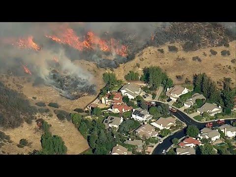 25 muertos y 100 desaparecidos en los incendios de California