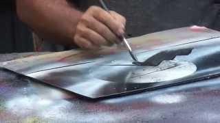 Барселона. Уличный художник(Барселона. Уличный художник за 10 минут нарисует картину по особой технологии. Видео: Барселона. Уличный..., 2015-10-01T19:51:42.000Z)