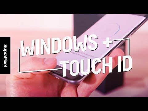 Desbloquear PC con huella digital en teléfono (Windows)