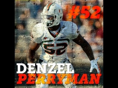 Official Denzel Perryman Miami Highlights | Sophomore Season