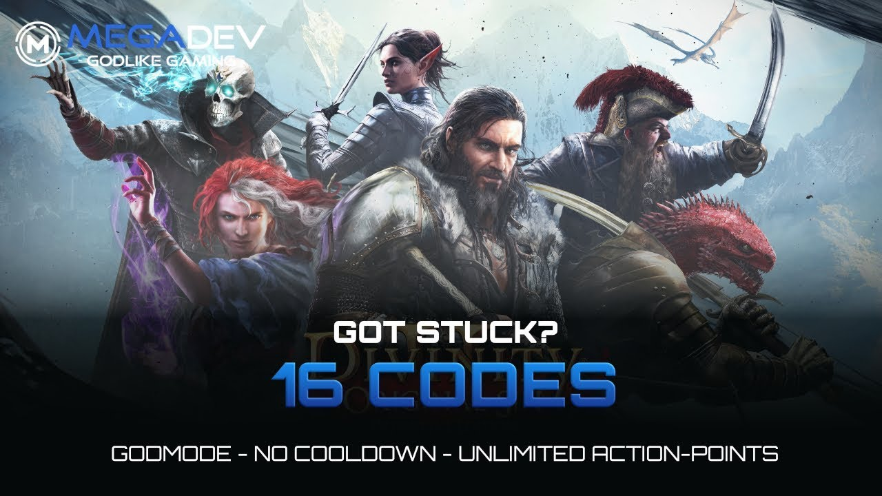 DIVINITY ORIGINAL SIN 2 DEFINITIVE EDITION Cheats: Godmode, Unlimited AP,      | Trainer by MegaDev