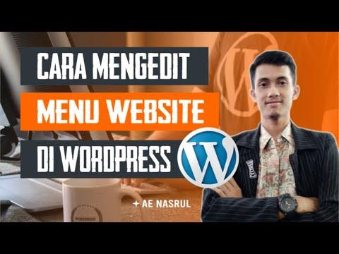 cara-mengedit-menu-di-wordpress