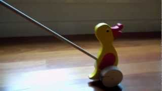 Wooden Pull Along Duck (on A Stick)