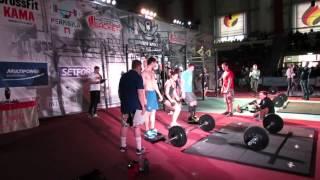 """Финальный комплекс открытого турнира Crossfit """"Perm open challenge"""" 2015"""