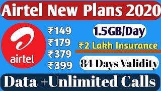 Airtel New Plans 2020 | Airtel Prepaid Recharge Plans | Airtel NEW Offers 2020 | Airtel Best Plans