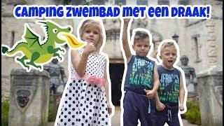 Vlog 227: LEUK CAMPING ZWEMBAD MET EEN DRAAK!
