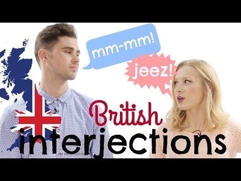 10 BRITISH ENGLISH INTERJECTIONS  | Conversation training - Chat like a native!