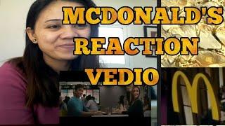 SHARON GABBY MCDONALD'S VALENTINE COMMERCIAL 2018:REACTION VEDIO