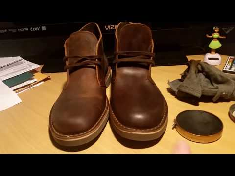 The BEST Clarks Bushacre 2 review + how to polish leather!