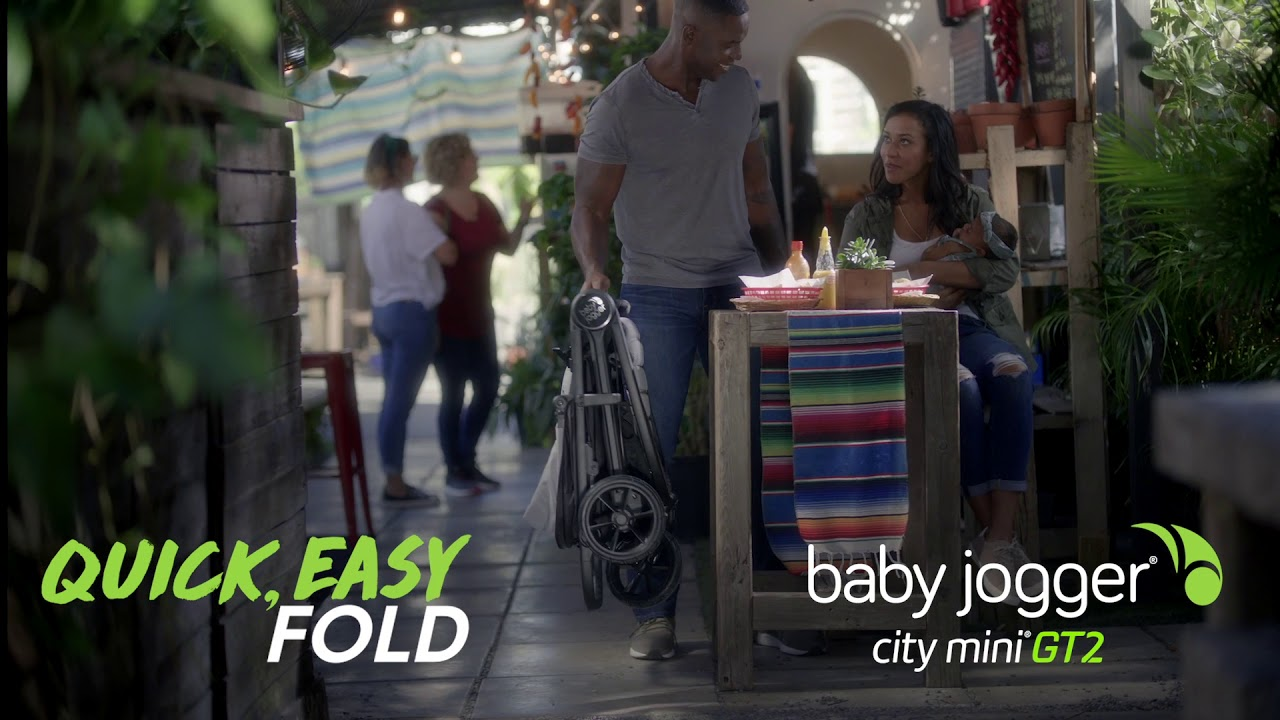 Baby Jogger City Mini GT2, Unsettle Down with Quick Easy Fold