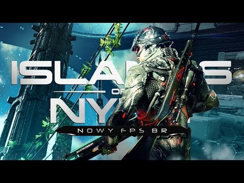 Islands of Nyne (PL) #1 - Nowy FPS Battle Royale (Gameplay PL)