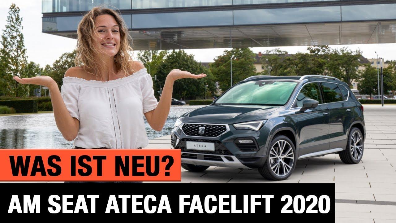 Seat Ateca 2020 - Was ist NEU am Facelift? 🇪🇸 Review | Test | Interieur | Sitzprobe | Motoren | POV