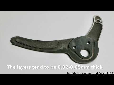 Reynolds' 3D Printed Titanium Dropouts (HD version)