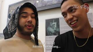 NIK MAKINO & RAF DAVIS TALKS ABOUT THE BEAT THAT THEY ALLEGEDLY STOLE