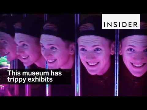 A London museum has a whole section of trippy exhibits