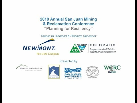 Ouray Silver Mines Environmental Initiatives Update