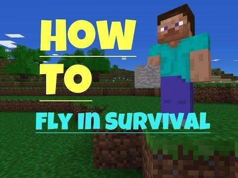 ✔ Fly in Survival No Jailbreak - Minecraft PE