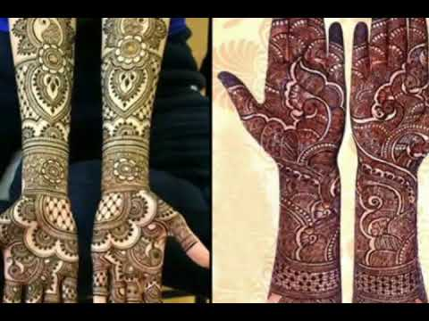 AAWESOME TOP 5 MEHANDI DESIGN INDIAN ARABIC AFRICAN STYLE