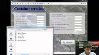 Вебинар: моделирование межтерминальных перевозок в порту