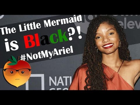 The Little Mermaid is Black?! #NotMyAriel Your Videos on VIRAL CHOP VIDEOS