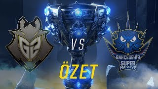 G2 Esports  G2  vs Baheehir SuperMassive  SUP  Ma zeti  Worlds 2018 n Eleme 1 Tur