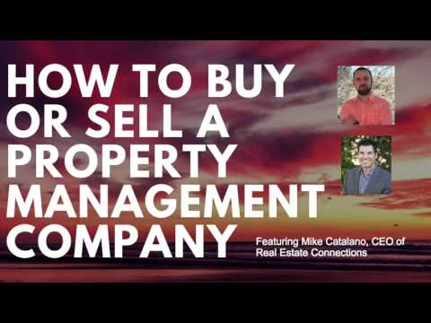 How To Buy Or Sell A Property Management Company