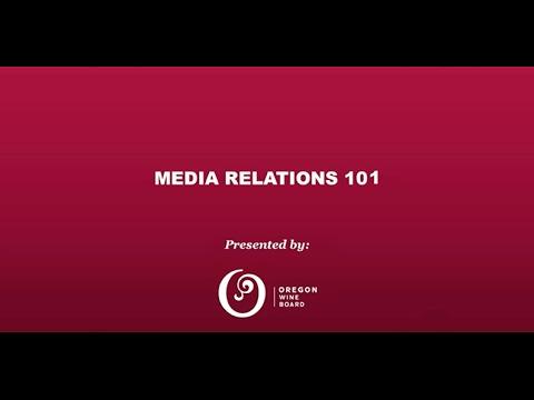 Media Relations 101 Webinar
