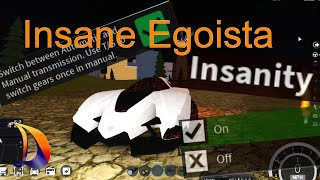 [Roblox] Insane Egoista stunts