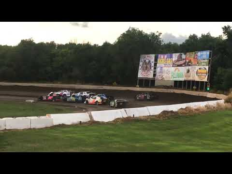 WISSOTA Super Stock Heat Race at Casino Speedway 7-21-2019