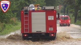 Schwere Unwetter Überflutung Ausnahmezustand im Vogtland