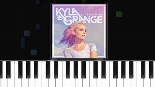 "Kyla La Grange - ""Cut Your Teeth"" (Kygo Remix) Piano Tutorial - Chords - How To Play - Cover"