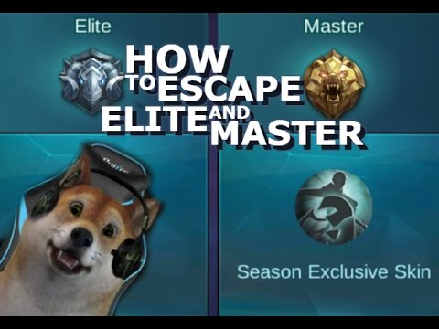 How to Escape Elite or Master in Mobile Legends + Giveaway