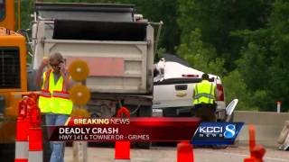 Man killed in crash with dump truck on Highway 141
