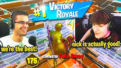 Nick Eh 30 *RECRUITS* CLIX as NEW DUO... this happened! (Fortnite Cash Cup)