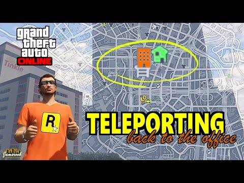 GTA 5 Online - Teleport without changing session - No glitch - Heist - CEO - MC / Bikers